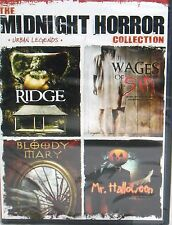 The Midnight Horror Collection DVD,FREE SHIP! MR.HALLOWEEN,WAGES OF SIN, 4 FILMS