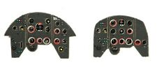 YAK-11 PHOTOETCHED COLORED INSTRUMENT PANELS #7246 YAHU
