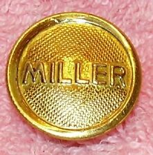 brass FILLER CAP  MILLER  old antique oil kerosene lamp