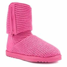 SONOMA Goods for Life Girls Sweater Boots Size 13Med Fuchsia  Foldover Shaft New