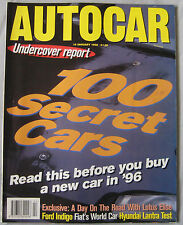 AUTOCAR 10/1/1996 featuring Lotus Elise, Seat Cordoba GT, Hyundai