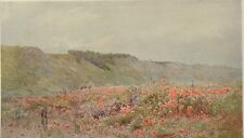 The Valley Of Poppies by H. G. Stormont. The Studio, 1903.