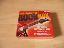 3 CD Box Die ultimative Rock Box: Kiss Ram Jam Joe Cocker Status Quo Steppenwolf