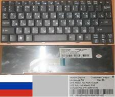 Clavier Qwerty Russe ACER ASPIRE ONE NSK-AJE0R 9J.N9482.E0R KB.INT00.523 Noir