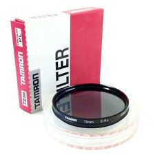 Tamron 72mm C-PL Circular Polarizer / Polarizing Lens Filter #QL1