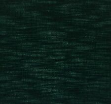 "BEACON HILL HEIRLOOM STRIE MOHAIR FOREST GREEN WOOL VELVET FABRIC BY YARD 55""W"
