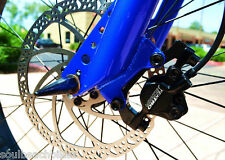 Fat tire STOMPER Tektro Hydraulic Front Disc Bike Brakes 180mm Rotor