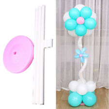 Wedding Decorations Balloon Column Base Plastic Poles Party Supplies Base Stand