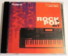Roland JW-50 Workstation Rock & Pop Set Original Backing Style Disk + Jewel Case