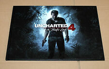 Uncharted 4 A Thief's End Press Kit Art Book Artbook Rare Promo