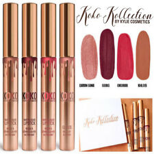 "► ""KOKO KOLLECTION BOX LIPSTICK"" KYLIE COSMETIC 4color/box gold birthday limited"