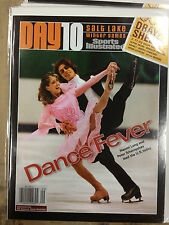 2002 Salt Lake City Olympic Daily Day 10 Naomi Lang & Peter Tchernyshev RARE