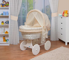 WALDIN Baby Toy wagon,Bassinet XXL NEW Yellow/ Beige