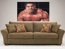 "LOU FERRIGNO MOSAIC 35""X25"" INCH WALL POSTER BODYBUILDING MR UNIVERSE THE HULK"