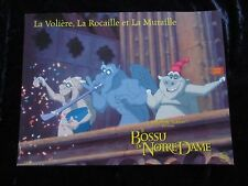 THE HUNCHBACK OF NOTRE DAME  French lobby card  #3 GARGOYLES Walt Disney