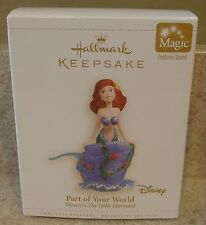 Disney Hallmark Keepsake Ornament Ariel Little Mermaid Magic Ornament