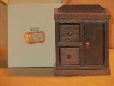 CONCORD DOLL HOUSE MINIATURES  DRY SINK,   Dresser, CABINET  Vintage