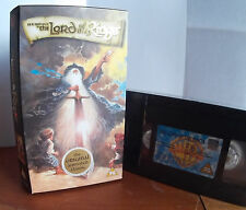 The Lord of the Rings 1978 animated film New & Sealed VHS Video