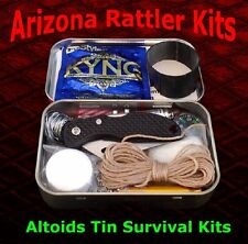 """Altoids Tin Survival Kits"" BEST QUALITY & VALUE hunting camping hiking survival"