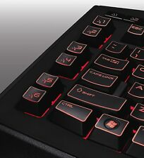 Spieler Tastatur beleuchtete Alienware DELL TactX Gamer keyboard Backlit deutsch