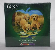 Bits & Pieces 600 Pieza Rompecabezas llamado Golden Delicious-Sellado