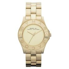 100% Authentic Marc By Marc Jacobs MBM 3126 Watch - Gold