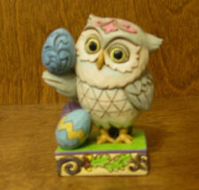 Jim Shore Heartwood Creek Minis 4051404 EASTER OWL, NEW From Retail Store 3.25""