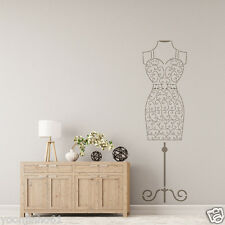 Wire Female Mannequin Stencil for Wall art DIY decor better than wall decal