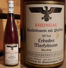 1971er Erbacher Markobrunnen - Riesling Trockenbeerenauslese - Staatsweingüter