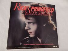 """Rick Springfield """"Love Somebody"""" PICTURE SLEEVE! MINT! ONLY NEW COPY ON eBAY!!"""