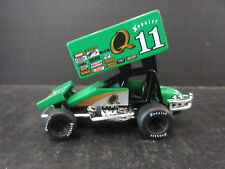 "#11 Steve Kinser #King of the Outlaws"" Diecast Sprint Car -- 1/64th scale"
