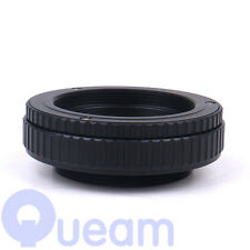 M65 to M65 Mount Lens Adjustable Focusing Helicoid Macro Tube Adapter 25 to 55mm