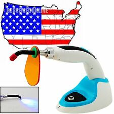 From USA Dental 5W LED Oral Curing Light Lamp Cordless 1400MW Teeth Whitening
