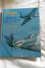 HISTORY OF THE ROYAL AIR FORCE by MICHAEL SHARPE , 96 pages , year 2001