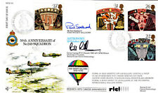 R FDC 88 Full Set of Astronomy stamps  Flown Balloon &  Double Signed FDC