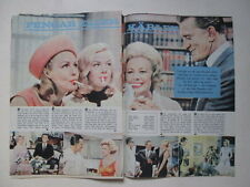 Julie Newmar Ritter Leslie Parish Mitzi Gaynor Sue Lyon clippings Sweden 1960s