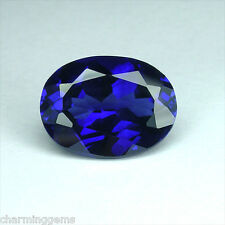 6cts. AWESOME DARK BLUE SAPPHIRE  OVAL VVS LOOSE GEMSTONE ovale saphir bleu