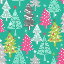 Dashwood Studio Christmas Dreams Oh Christmas Tree 100% Cotton Quilting Fabric