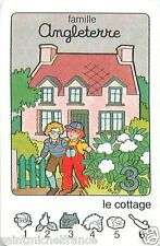 MAISON COTTAGE  ENGLAND ANGLETERRE PLAYING CARD CARTE A JOUER