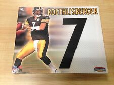 """Ben Roethlisberger Jersey Number Collectible Canvas Picture 11"""" x 9"""" (BuyMVP)"""