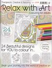 Relax with Art issue 1 - Art Therapy - Adult Colouring Book