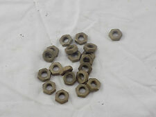 Panther 3/8th bsf nuts x 20 cadnium plated, Vincent Velocette BSA ariel scott