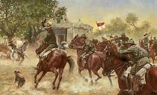 """The Last Charge"" Don Stivers Limited Edition Giclee Print - US Cavalry"