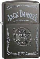 Zippo 29150 jack daniel's old no. 7 gray dusk finish full size Lighter