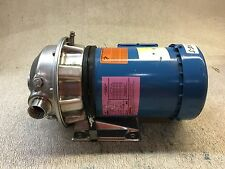 GOULDS ITT PUMP, SIZE: 1 X 1 1/4-6, WITH EMERSON MOTOR, 1 HP, USED