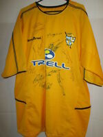 Port Vale 2003-2005 Squad Signed Away Football Shirt with our COA