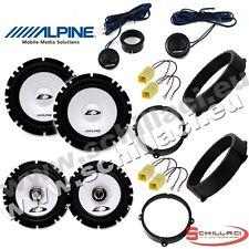 Kit 6 casse per LANCIA Y YPSILON 2003-2013 Alpine con adattatori e supporti