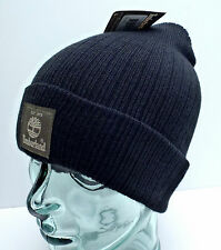 TIMBERLAND Men's Cuffed Beanie *Black/Grey/Olive/Blue Winter Hat *One Size New