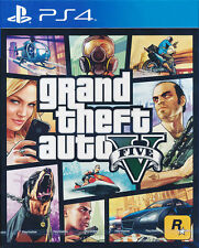 Grand Theft Auto 5 - Sony PS4 Game - GTA V - Brand New Sealed