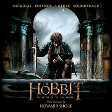 HOWARD SHORE - THE HOBBIT: THE BATTLE OF THE FIVE ARMIES 2 CD NEU SHORE,HOWARD